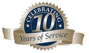 10 year of service