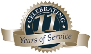 11 year of service